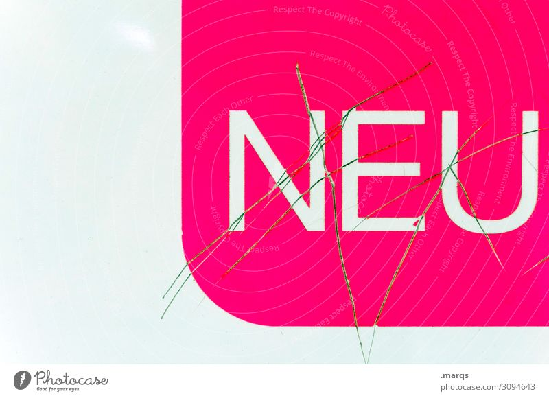 Colour White Pink Characters Communicate Signs and labeling Change New Plastic Whimsical Scratch mark