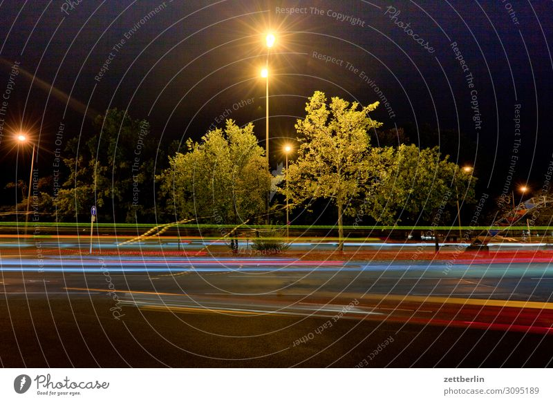 light Movement Multicoloured Dynamics Fantasy Crossroads Light Visual spectacle Tracer path Light painting Light show Line Rush hour Rear light Car headlights