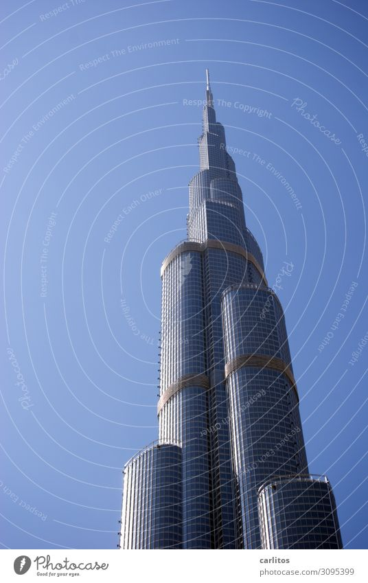 Burj Khalifa without sun Dubai United Arab Emirates Capital city City High-rise Economic growth Construction boom