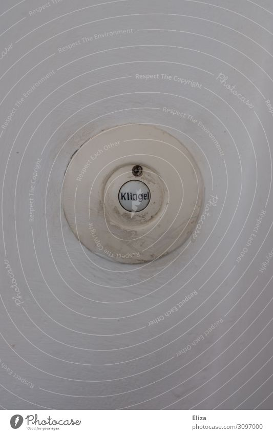White Wall (building) Living or residing Door Round Hallway Neighbor Bell Visitor