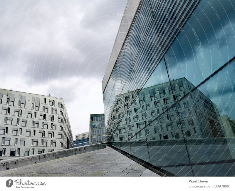 Oslo Joy Vacation & Travel Tourism Trip Far-off places City trip Art Architecture Stage play Theatre Downtown Manmade structures Building Tourist Attraction