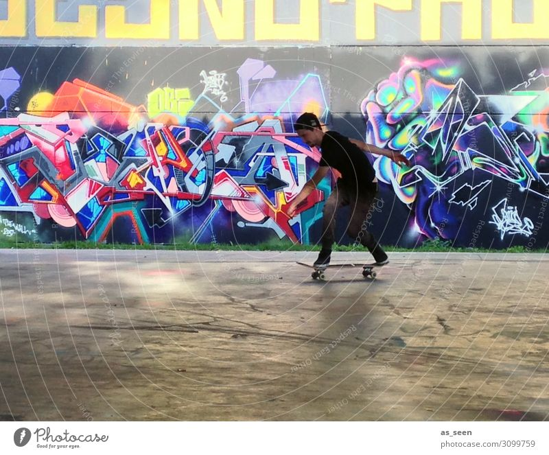 skateboarding Boy (child) Infancy Life 1 Human being 8 - 13 years Child 13 - 18 years Youth (Young adults) Architecture Youth culture Subculture Wall (barrier)