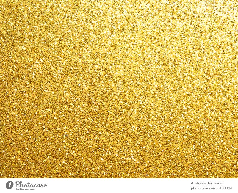 Glitter in Gold Style Christmas & Advent Decoration Yellow abstract Background picture beautiful golden blur bright celebration circle color colorful dark
