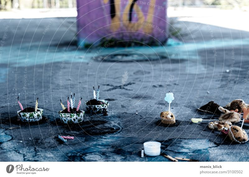 Lostplace Party Cake Picnic Coffee Alcoholic drinks Lifestyle Design Handicraft Night life Event Disc jockey Going out Feasts & Celebrations Dance Eating