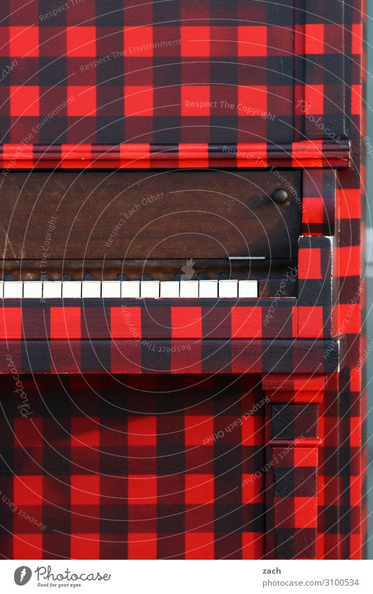 Red Black Playing Line Retro Music Culture Shows Event Fairs & Carnivals Concert Stage Band Artist Piano Listen to music
