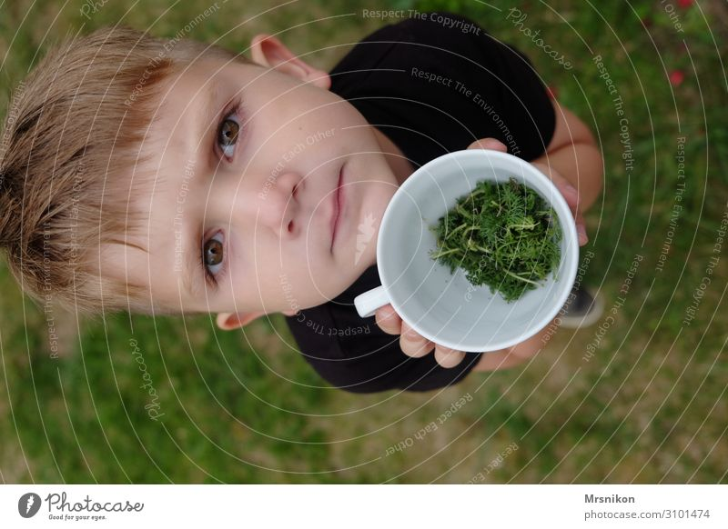 Child Human being Eating Life Natural Funny Happy Grass Boy (child) Playing Blonde Infancy Happiness Cute Curiosity Discover