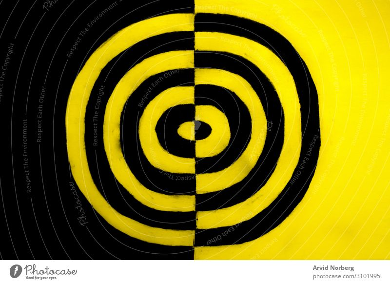 Black and yellow concept abstract alert art backdrop background banner black caution circle color creative curve danger design dirty graphic grunge hazard