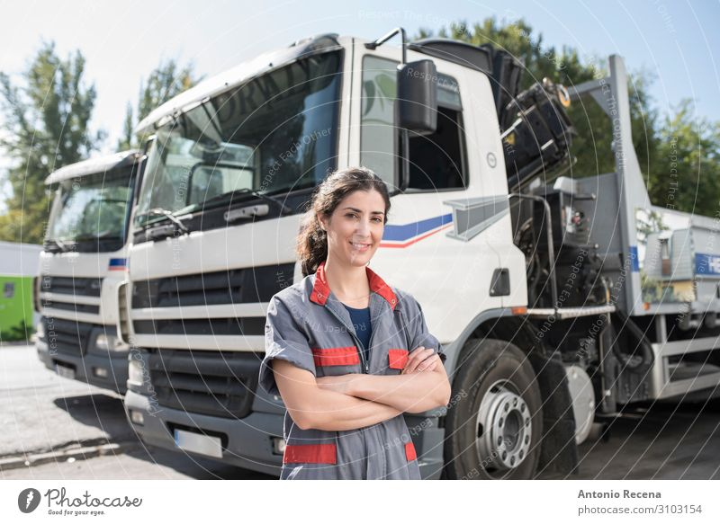 AlcantaraJulia.jpg Lifestyle Happy Work and employment Profession Factory Industry Business Company Human being Woman Adults Transport Vehicle Smiling