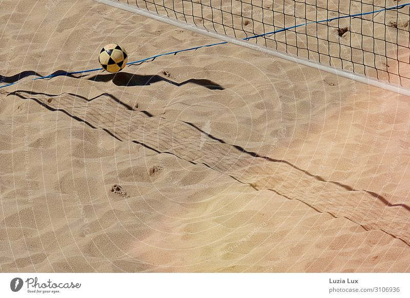 shadow, game Joy Fitness Leisure and hobbies Playing Beach Sports Ball sports Sporting Complex Sporting event Summer Sunbeam Net Warmth Subdued colour