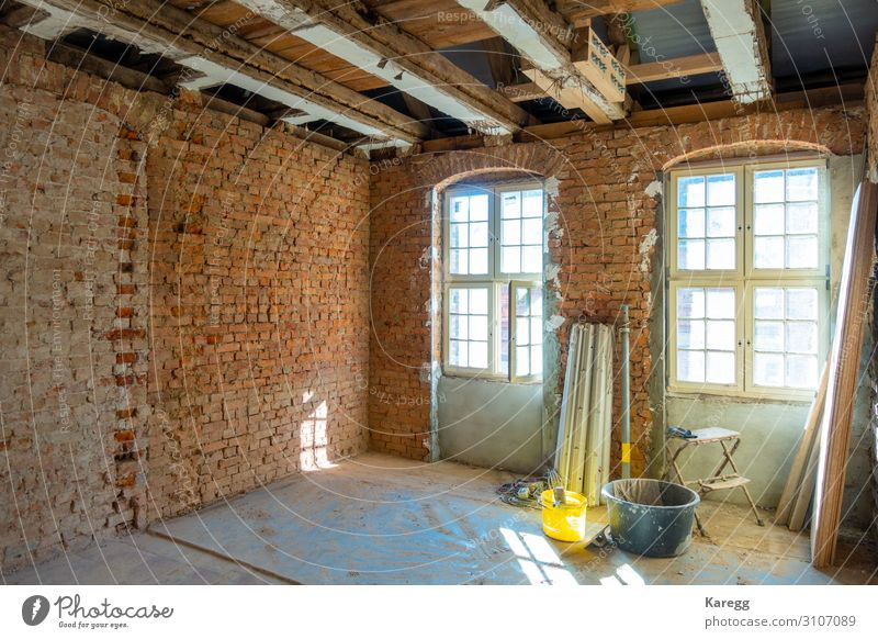 in laborious work an old house is restored Museum Detached house Dream house Manmade structures Hat Brown aged wooden home maihaugen farmhouse granary weathered