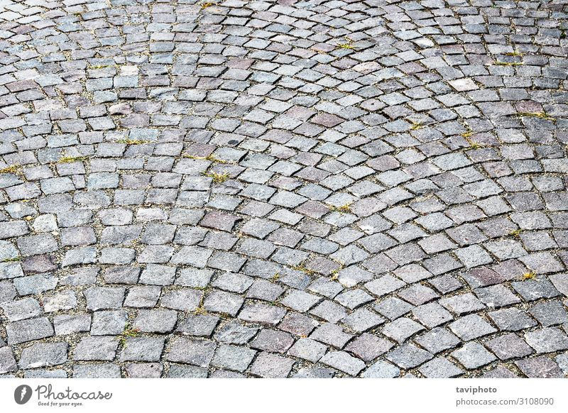 pavement of cubical stone Design Rock Architecture Street Lanes & trails Stone Old Gray Perspective Tradition stonework pavement background geometric Tile