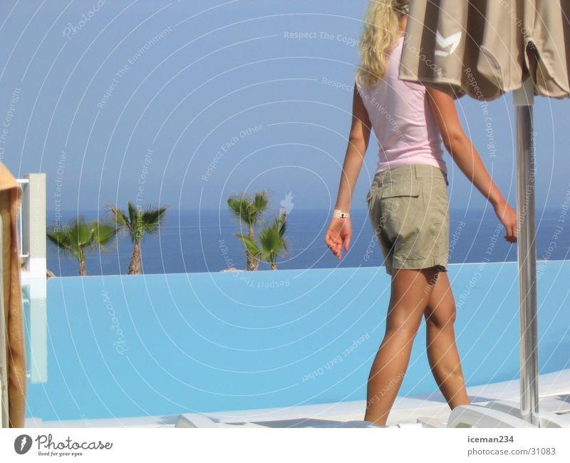 walking way Swimming pool Ocean Vacation & Travel Europe Sun