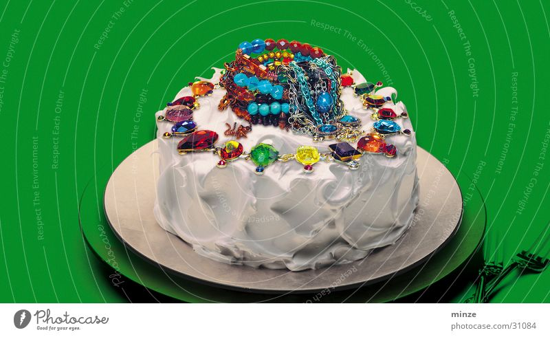 Feasts & Celebrations Birthday Cake Jewellery Gateau Jubilee Food