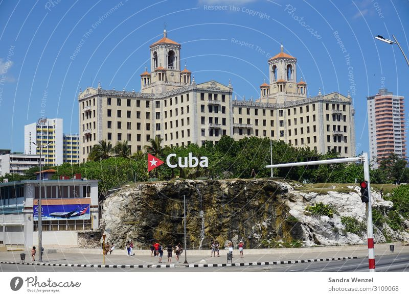 cuba Havana Cuba Americas Capital city Palace Tower Manmade structures Building Architecture Tourist Attraction Landmark Street Characters Exceptional Hotel
