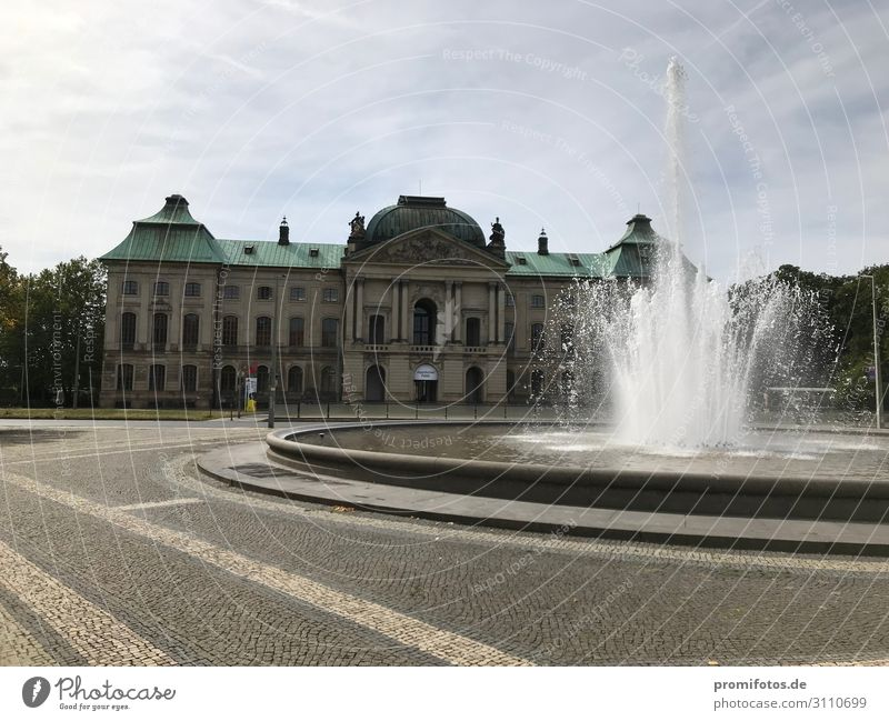 Japanese Palace in Dresden. Photo: Alexander Hauk Vacation & Travel Tourism Trip Exhibition Museum Culture Sky Sunlight Summer Town Tourist Attraction