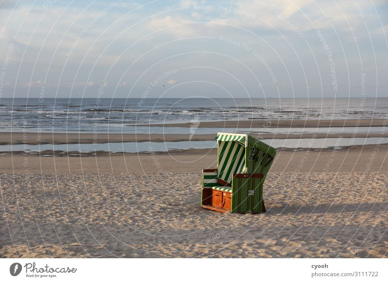 Island dream 2 Beautiful weather Beach North Sea Blue Happy Contentment Serene Calm Loneliness Relaxation Vacation & Travel Freedom Leisure and hobbies Horizon