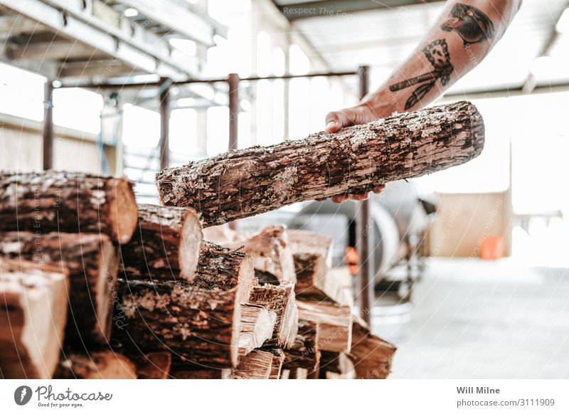 Grabbing a Log for a Fire Smoke Wood Cooking Hand grab smoker Texas Food Barbecue (apparatus) Barbecue (event) BBQ