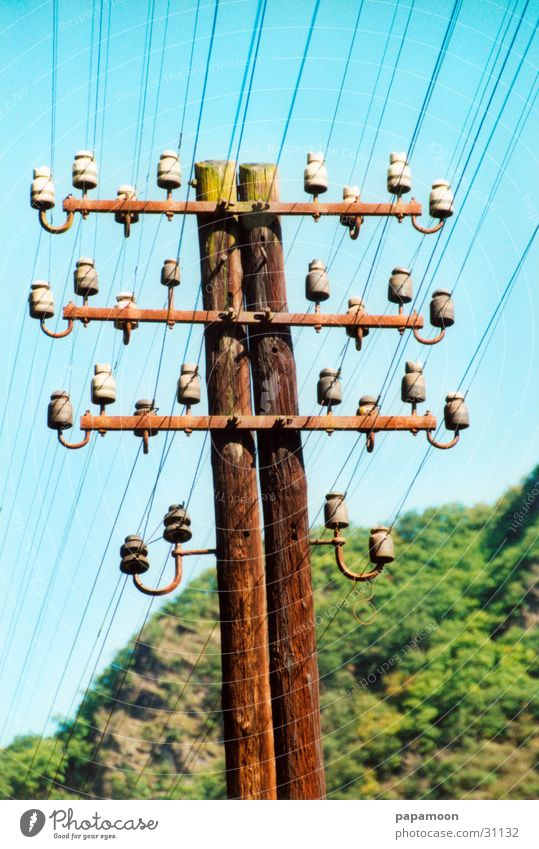 Electricity Electricity pylon Transmission lines Entertainment Insulator