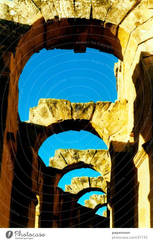 doors to heaven Archway Light Ruin Craft (trade) Sky Sun Shadow Corridor Castle