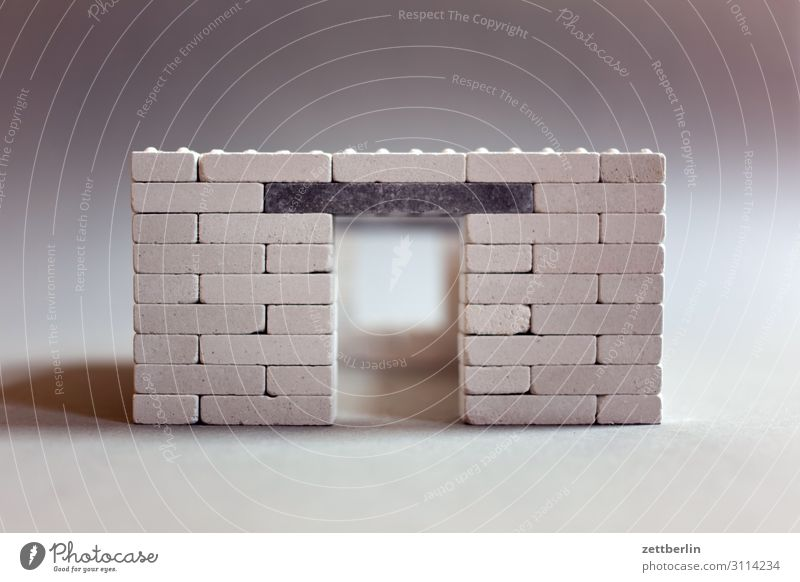 Anchor Stones Building stone anchor stones Construction site Toy building bricks Brick Manmade structures Material Playing Toys Wall (barrier) Masonry Door