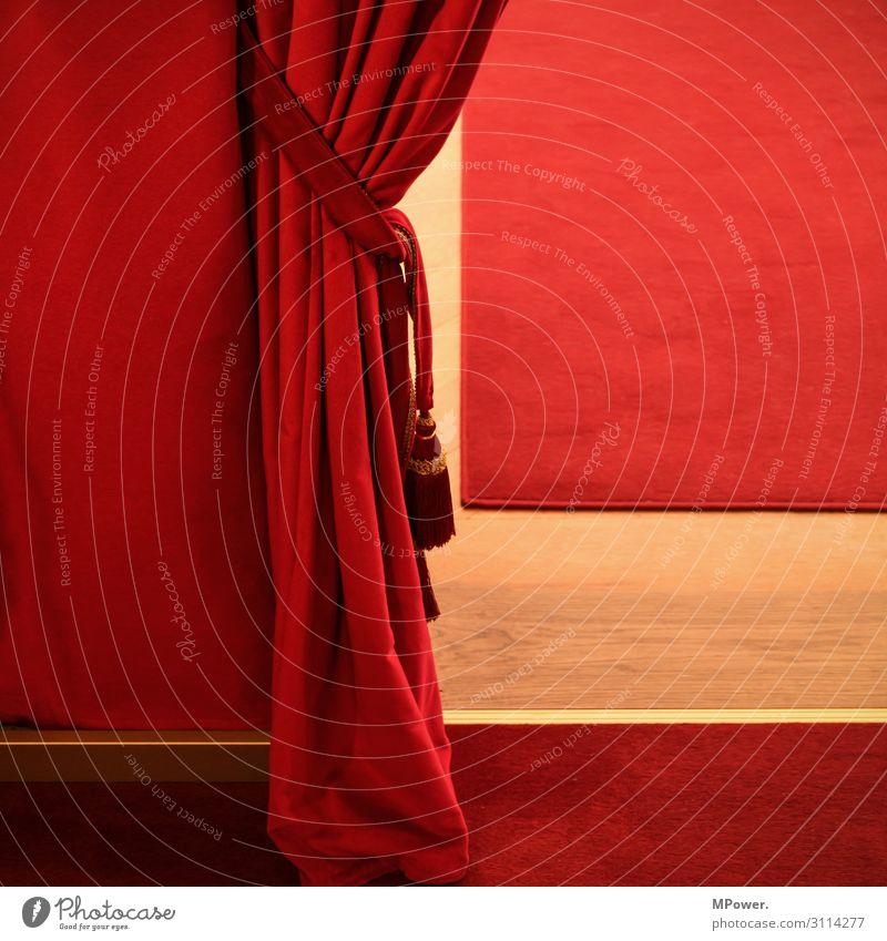 Red Art String Stage play Theatre Drape Carpet Velvet Theater square
