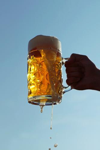 #A0# Give me some beer! Art Esthetic Oktoberfest October Beer Beer garden Beer glass Beer mug Froth Beer tent Beer table Toast Alcoholic drinks Foam