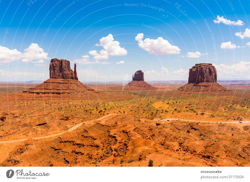 Monument Valley on the border between Arizona and Utah, USA Vacation & Travel Tourism Summer Mountain Nature Landscape Sand Sky Park Rock Canyon Stone Natural