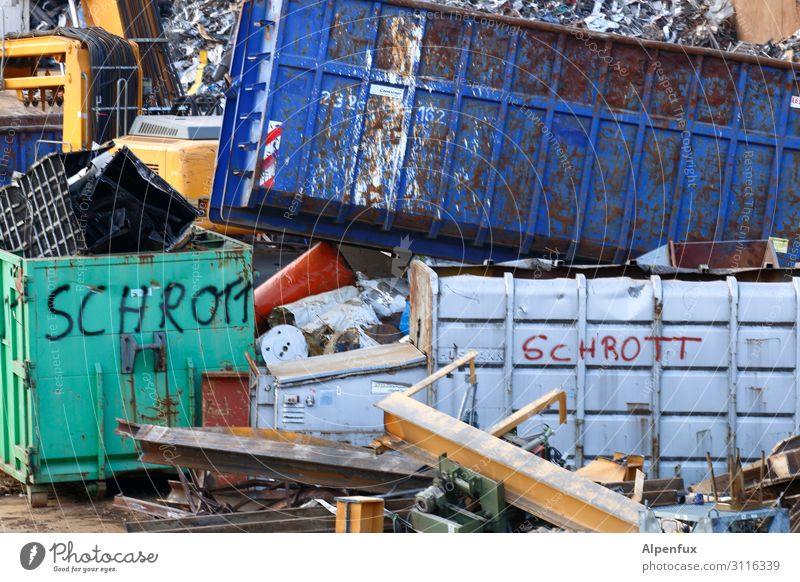 Scrap picture ! Container Steel Rust Business Chaos End Energy Society Uniqueness Problem solving Sustainability Politics and state Luxury Services Teamwork