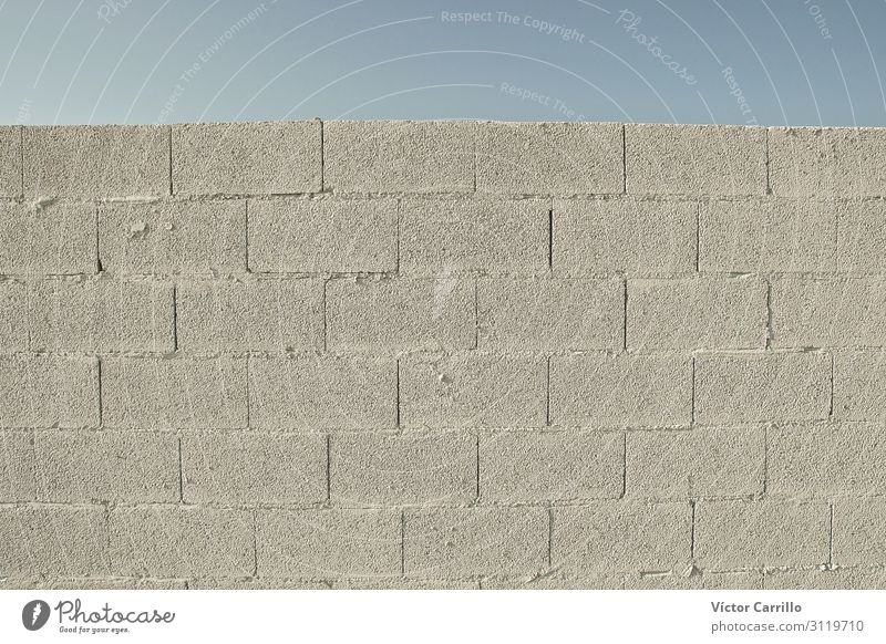 A concrete wall for copy Wall (barrier) Wall (building) Power Willpower Brave Determination Claustrophobia Stupid Indifferent Discordant Colour photo