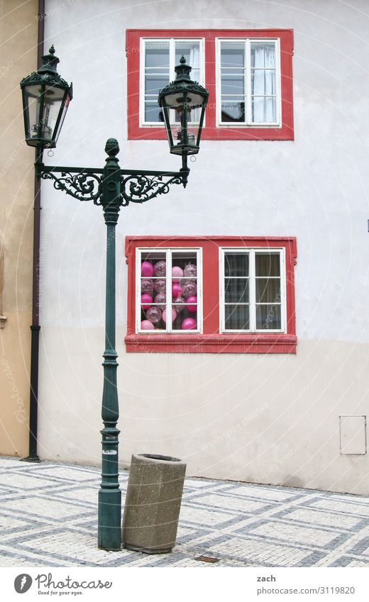 Town House (Residential Structure) Joy Window Wall (building) Feasts & Celebrations Wall (barrier) Facade Decoration Balloon Street lighting Old town Village