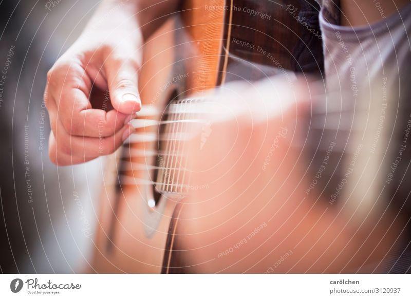Hand Brown Music Concert Guitar Musical instrument Musical instrument string Make music Guitarist Effortless Plucking Guitar string String instrument