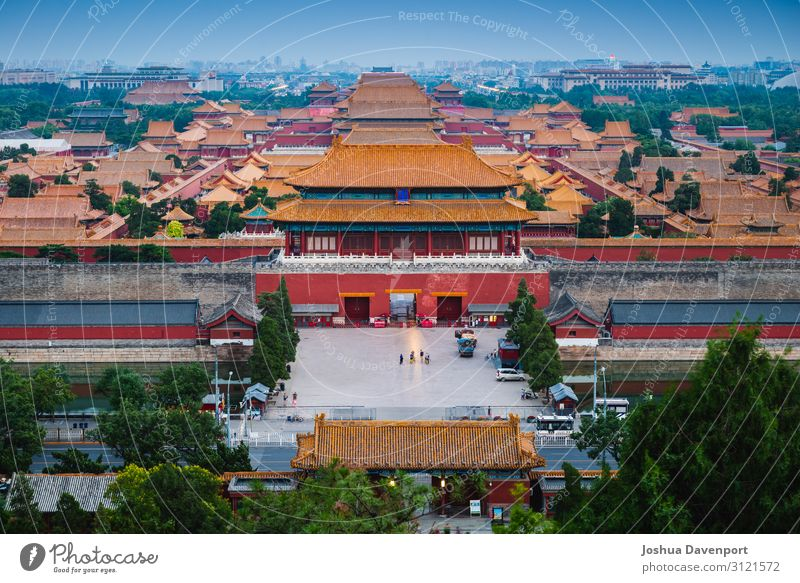 Forbidden City Vacation & Travel Tourism Trip Sightseeing Culture Architecture Tourist Attraction Landmark Old Beautiful Ancient ancient building ancient china