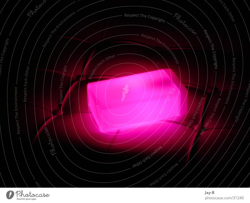 Lamp Pink Things Cube Futurism Lava Lava lamp Light object