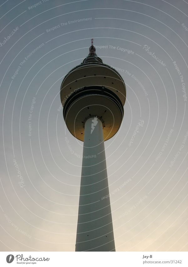 Sky Architecture Hamburg Tower Frequency