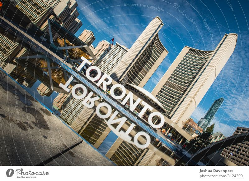 Nathan Phillips Square Manmade structures Building Architecture Tourist Attraction Town Canada canadian city canadian landmark City city architecture