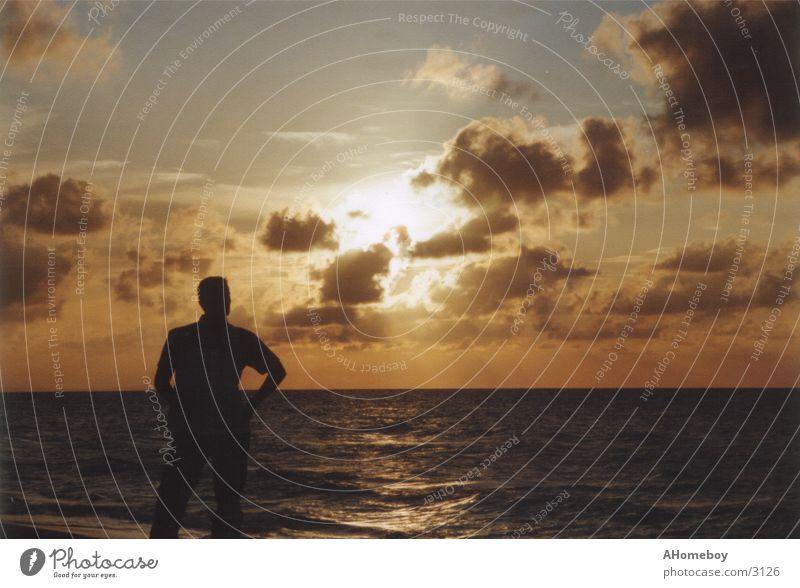 Human being Sky Vacation & Travel Sun Ocean Clouds Cuba