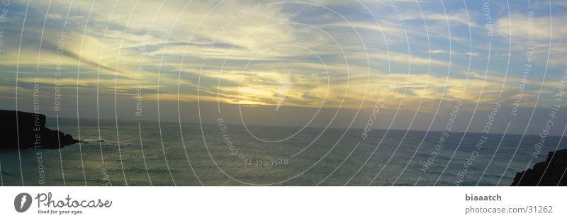 Water Sky Sun Ocean Beach Clouds Coast Europe Fuerteventura Celestial bodies and the universe Canaries