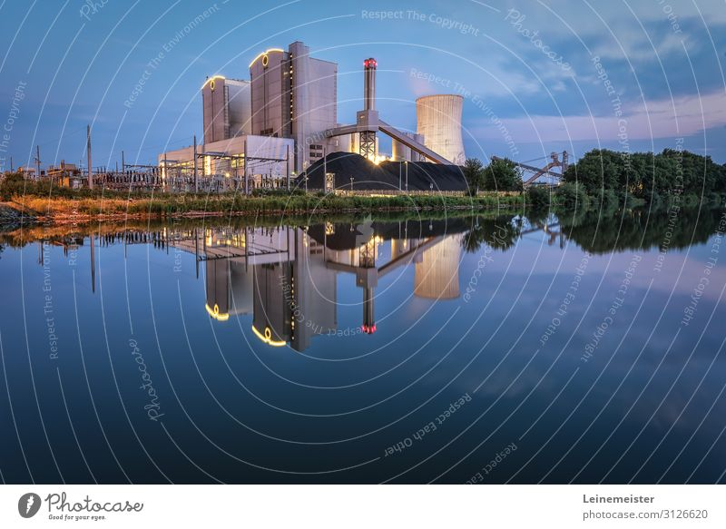 Stöcken power station Energy industry Coal power station Industry Environment Clouds Summer Beautiful weather Hannover Germany Town Industrial plant