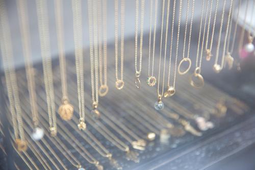 jewellery Shopping Luxury Style Jewellery Shop window Necklace Glittering Authentic Beautiful Modern Positive Anticipation Design Elegant To enjoy Idea Quality