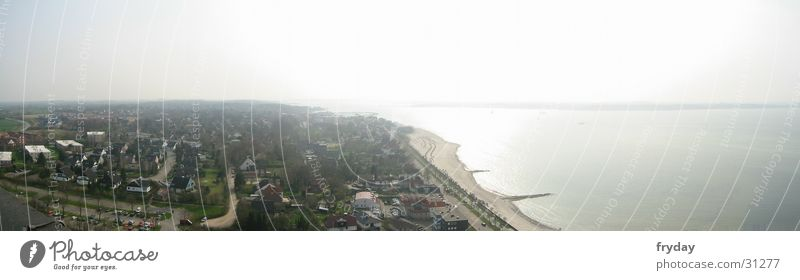 Large Europe Kiel Baltic Sea Panorama (Format) Schleswig-Holstein Laboe Kieler Förde