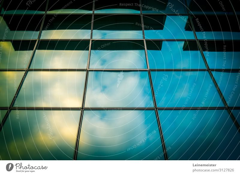 German Pavilion Event Sky Clouds Laatzen Hannover Germany Europe Town Manmade structures Building Architecture Hall Facade Window Tall Art Reflection Expo 2000