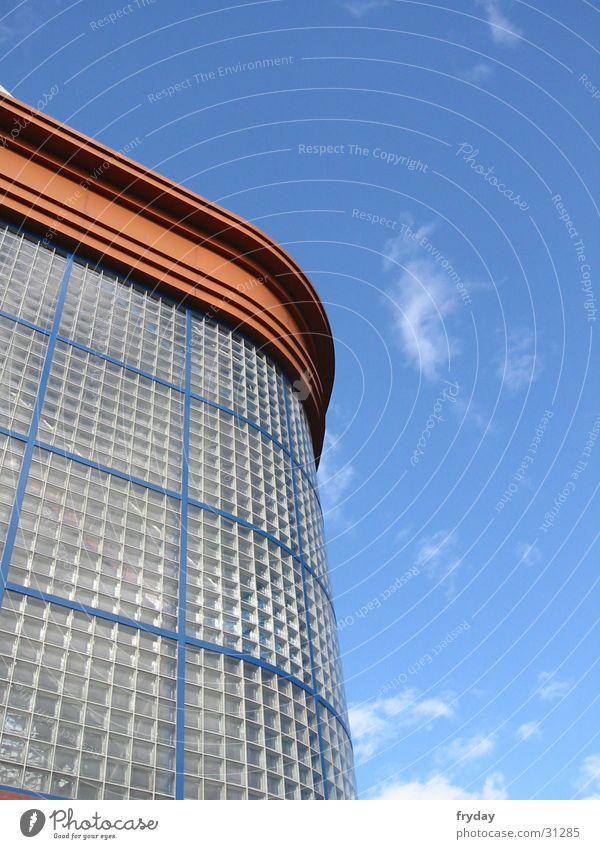Sky Clouds Window Building Architecture Glass Stadium Glasgow
