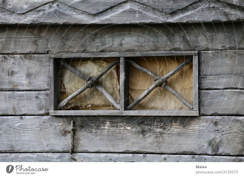 Beautiful window in a house in the Viking village Background picture Bavaria Day Europe Famous building Germany Vacation & Travel Travel photography Vikings