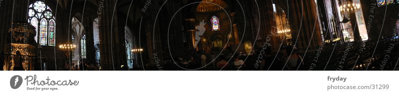 Human being Religion and faith Large Chair Panorama (Format) House of worship Strasbourg Altar