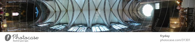 religious roof Wide angle Panorama (View) Strasbourg House of worship Münster Religion and faith Large Panorama (Format)