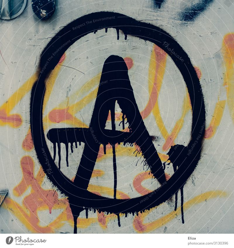 Graffiti Political movements Chaos Politics and state Punk Left Daub Protest Resist Anarchy Anti-fascism