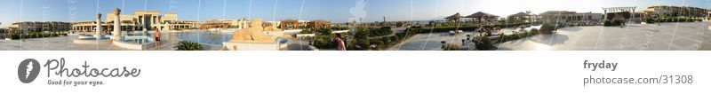 poolsite360 Panorama (View) Wide angle Swimming pool Egypt Hotel Contentment pool area Large Panorama (Format)