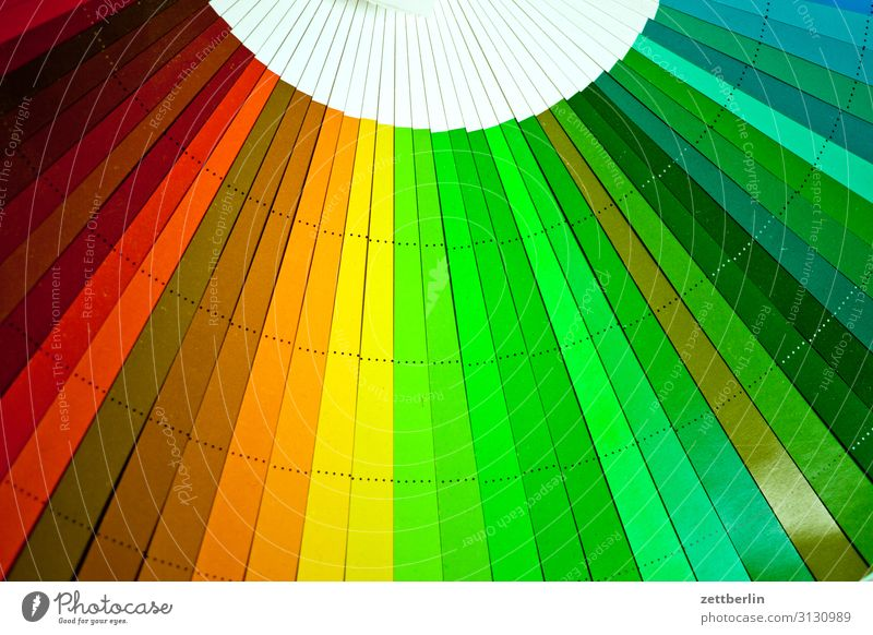 Colour fans (green and so on) Multicoloured Pressure Print shop Document Color chart Colour scale Colour luminosity Colour value Play of colours Color gradient