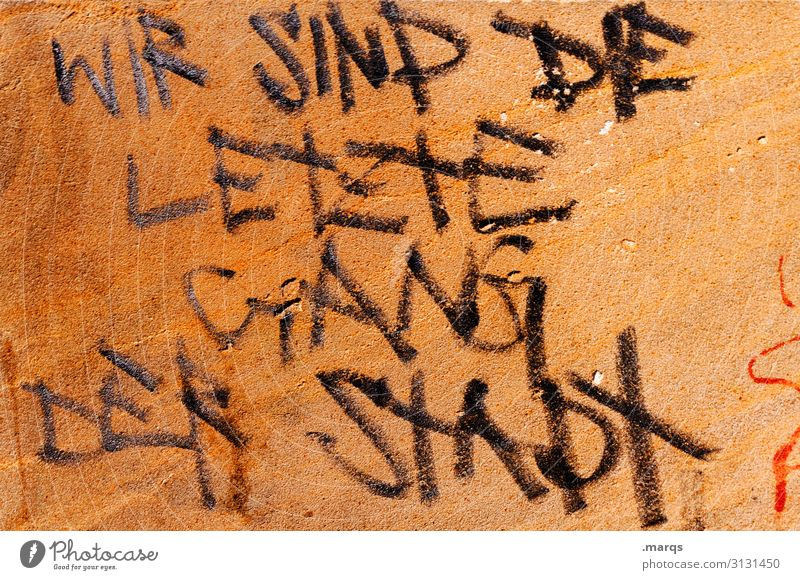 Town Graffiti Wall (building) Emotions Wall (barrier) Characters Dirty Communicate Cool (slang) Trashy Communication Figure of speech Criminality Last Vandalism