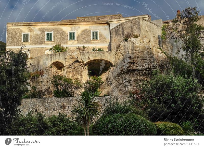 House built on rocks in Sardinia in the evening sun House (Residential Structure) Building Rock stone rock solid sedini Old building stable Old town Caves